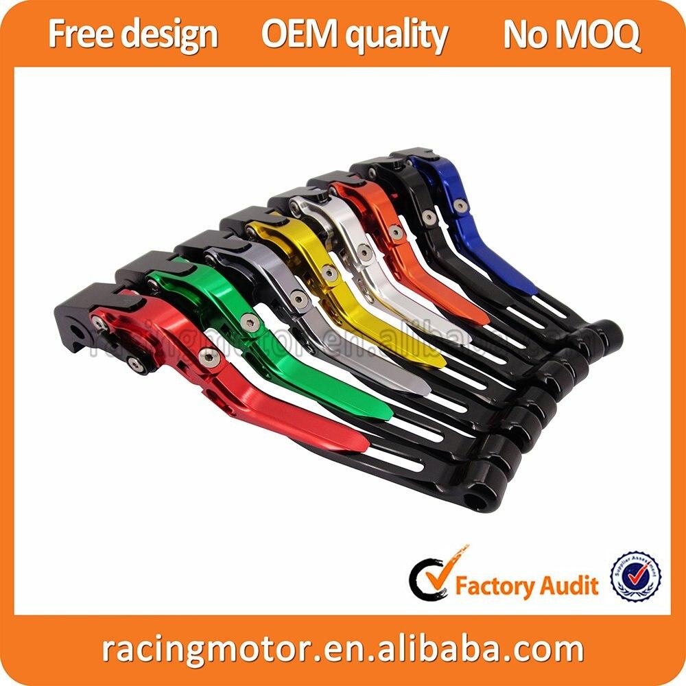 Cnc Folding Extendable Brake Clutch Levers For Suzuki Msi Bamboo Charcoal 2pcs 600 750 Katana 1998 2006