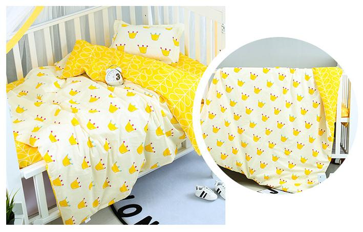 Good Quality Lovely Crown Baby Bedding Set Pure Cotton Cot Kit For Newborns Children Crib Bed,Duvet/Sheet/Pillow, with fillingGood Quality Lovely Crown Baby Bedding Set Pure Cotton Cot Kit For Newborns Children Crib Bed,Duvet/Sheet/Pillow, with filling