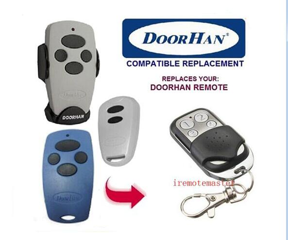 DOORHAN Replacement Rolling Code 433.92MHZ garage door Remote doorhan replacement rolling code 433mhz garage door remote control dhl free shipping