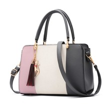 2019 New Fashion Luxury Ladies Handbag PU Leather Shoulder Bag Female Large Capacity Handbag Main Bag Diagonal Package цена 2017