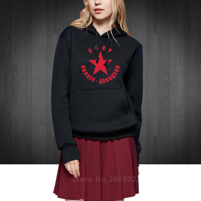 Online Shop CCCP USSR Soviet Union Printed Women's Sweatshirts ...