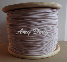 10meters/lot  0.1×640 shares Litz strands of copper wire polyester envelope is sold by the metre