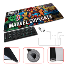 Wholesale And Retail Large Rubber Mousepad Marvel Copycats Comics Design Big Best Comfort Game Superheroes Collage
