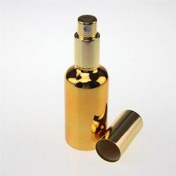 High grade 100pcs fine mist glass 50ml spray bottle for perfume wholesale luxury golden 50 ml.jpg 250x250
