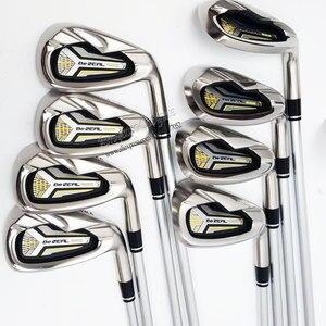 Image 2 - Cooyute 新ゴルフクラブ本間 BEZEAL 525 ゴルフアイアン 5 11 Sw BEZEAL 525 クラブアイアンゴルフカーボンシャフト r または S フレックス送料無料