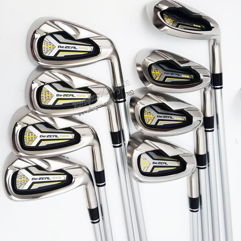 Image 2 - Cooyute New Golf Clubs HONMA BEZEAL 525 Golf Irons 5 11 Sw BEZEAL 525 Clubs Irons Golf Graphite shaft R or S Flex Free shipping-in Golf Clubs from Sports & Entertainment