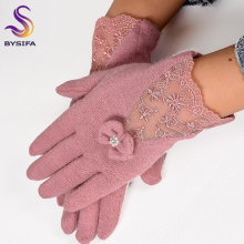 Gloves Soft Women Winter