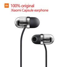 100% original Mi Xiaomi  capsule headset In general mobile phone headset tablet running earplugs Line by wire xiaomi earphone