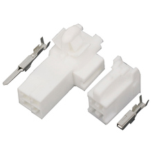 цена на 10 Sets  4 pins DJ7046Y-2.2-11/21 4P  Auto Electrical Connector   male and female plug connector terminal