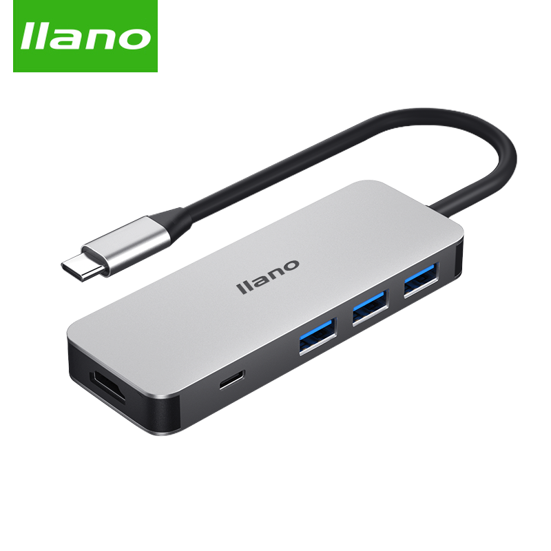 llano usb c to hdmi dex usb splitter usb3 0 type c hdmi RJ45 Thunderbolt 3