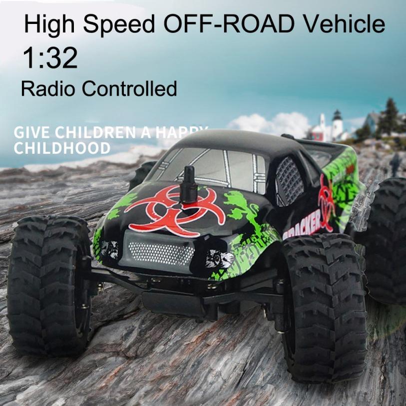 Virhuck Mini Off-road RC Racing Auto Lkw Fahrzeug 2WD Fernbedienung 1:32 Skala Y912