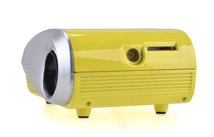 mini projector yellow pic 2