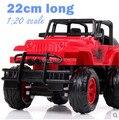 Envío gratis 1:20 RC Drift coche de Control remoto coche todoterreno SUV Jeep vehículo Radio de coche para niños de Control alta simulación juguete