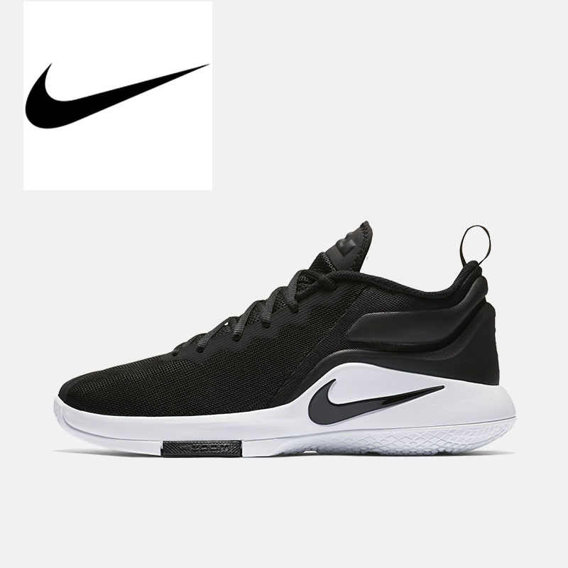 b803d9cd0f854 Original Authentic NIKE LEBRON WITNESS II EP Lightweight Support Men s  Basketball Shoes Breathable Low Top Sneakers