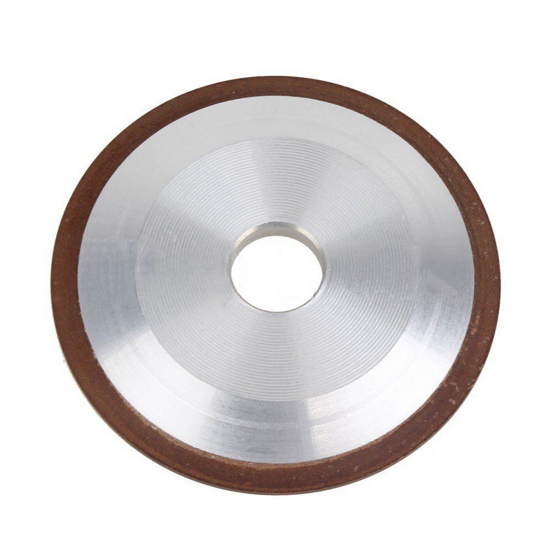4 150 Grit Diamond Grinding Wheel Grinding Disc Saw Blade Resin Diamond Grinding Wheel for Rotary Abrasive Tools hot sale electric deep fryer commercial electric fryer french fries fried chicken deep frying furnace