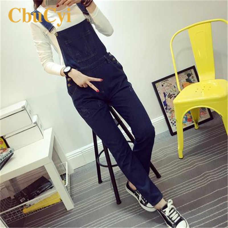 Новые модные женские джинсовые комбинезоны большого размера, брюки с дырками, облегающие хлопковые джинсовые комбинезоны для женщин, повседневный комбинезон, комбинезоны