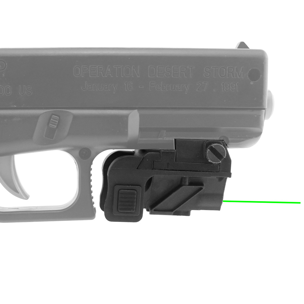 Micro Green Dot Pistol Laser Compact Tactical Green Laser Sight Scope for Most Handguns Fit 20mm Rail aimtis x300 series x300v ir flashlight tactical led night vision weapon light glock 17 18 18c pistol armas fit 20mm rail