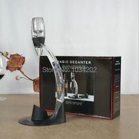 Magic Decanter Red Wine Aerator Essential Decanting Set With Bag Hopper Wine Aerator Cup FREE SHIP