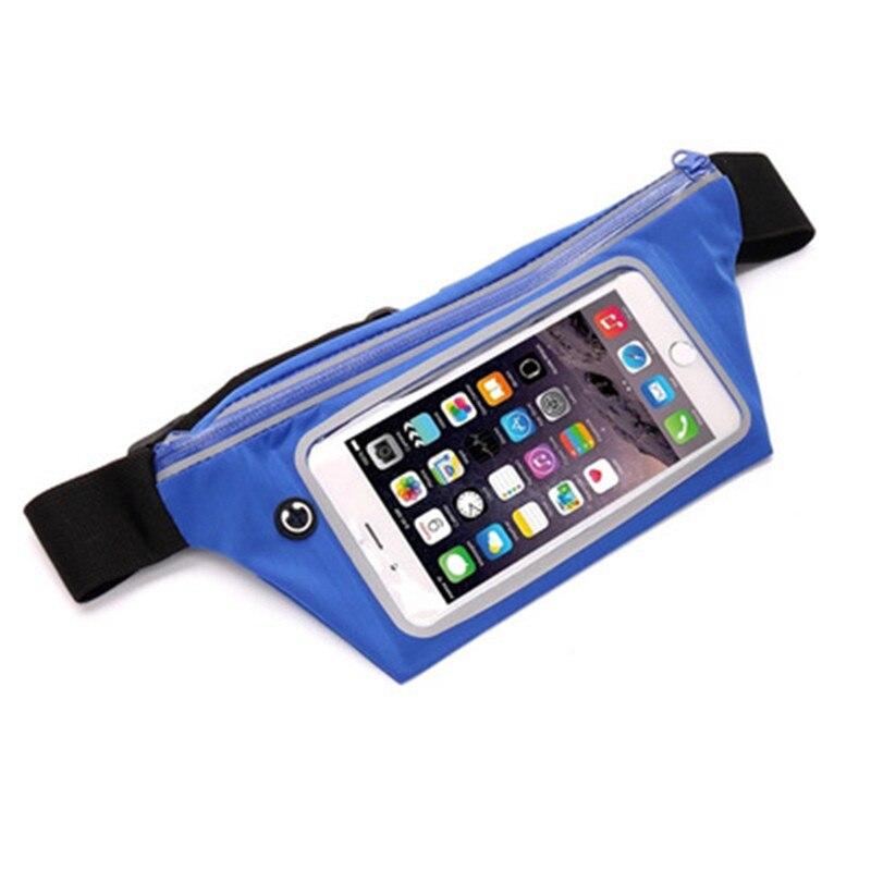 Armbands Mobile Phone Accessories Earnest Women Men Waist Bag Sport Waist Bag Screen Touching Waterproof Running Belt Pouch Mobile Phone Holder For Phone 6.0 Moderate Cost