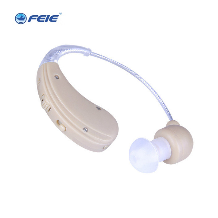 2018 Portable Mini Hearing Aid Sound Amplifier behind the Ear Tone Volume Adjustable Hearing Aids Ear Care For the elderlyS-109S christams gift hearing aid aids cheap digital hearing amplifier ear care sound clear voise volume control s 100a super mini