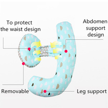 Pregnancy Body Pillow Multifunction Breastfeeding U Shape Maternity Pillows Pregnant Women Waist Abdomen Support Cushion Bedding