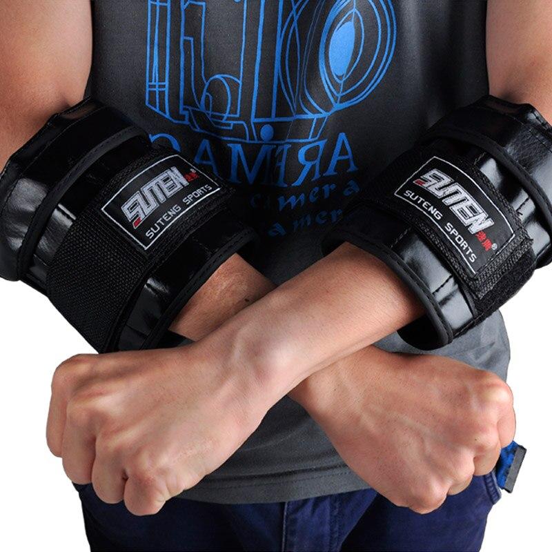 Marka spor Ayarlanabilir El Bilek Ağırlıkları legging Kum Torbası eğitim ekipmanları Için 1-3 kg Ağırlık Eller MMA spor Boks fitness için