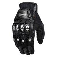 Alloy Steel Bicycle Motorcycle Motorbike Powersports Racing Gloves Black M L XL