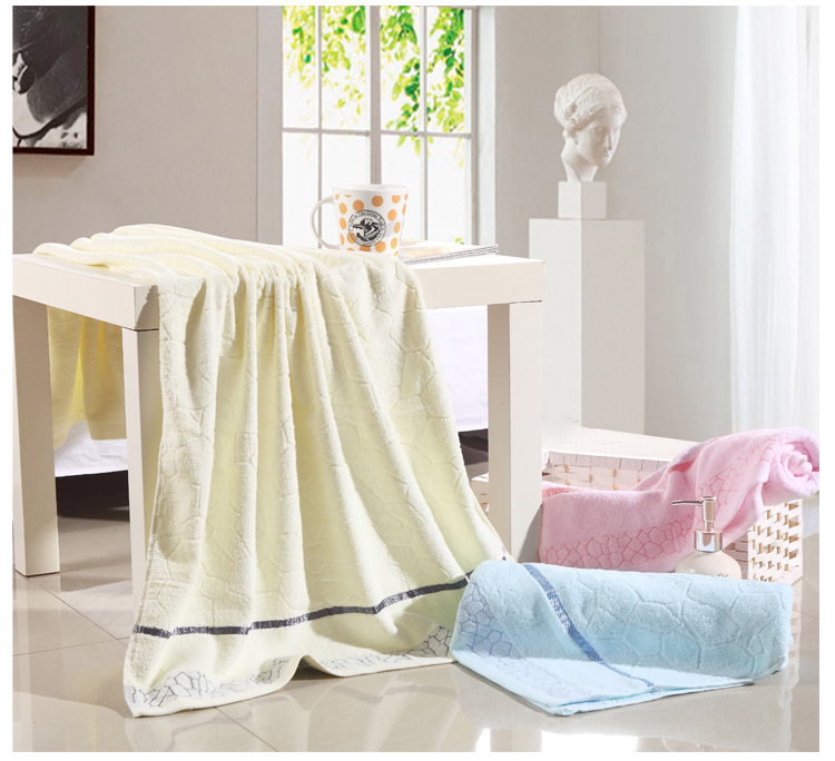 Bath Coton Towels 1