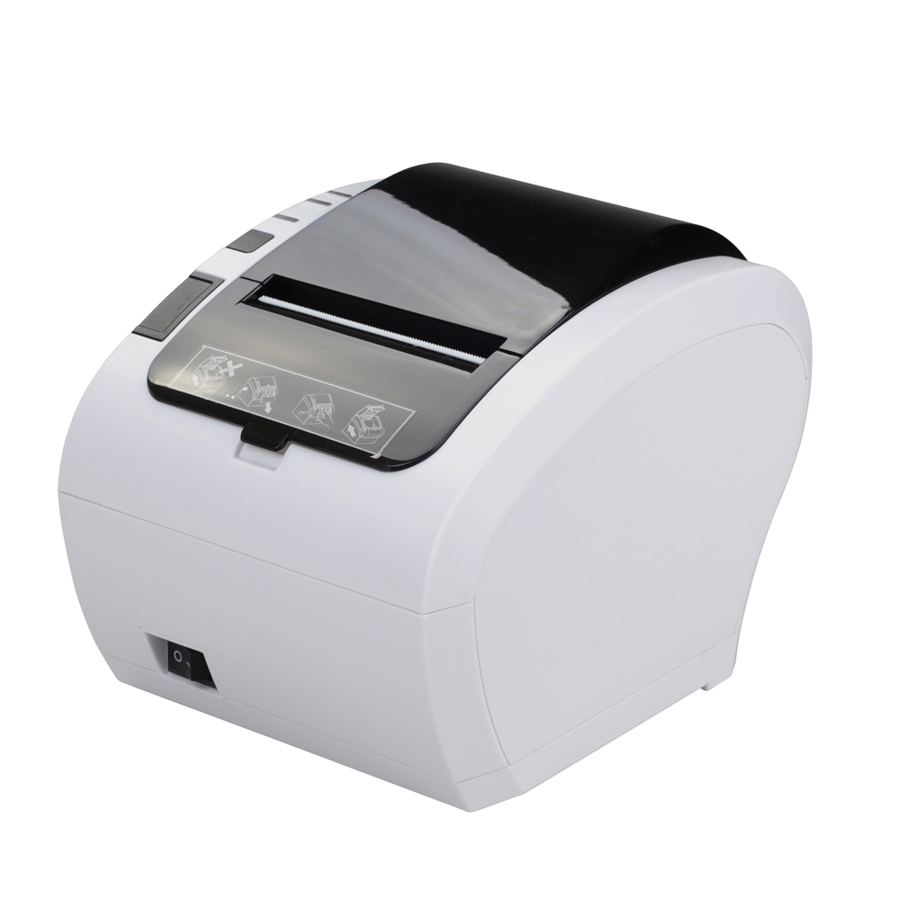 Wholesale Cheap POS 80 Auto Cutter 80mm Thermal Printer USB Receipt wholesale brand new 80mm receipt pos printer high quality thermal bill printer automatic cutter usb network port print fast