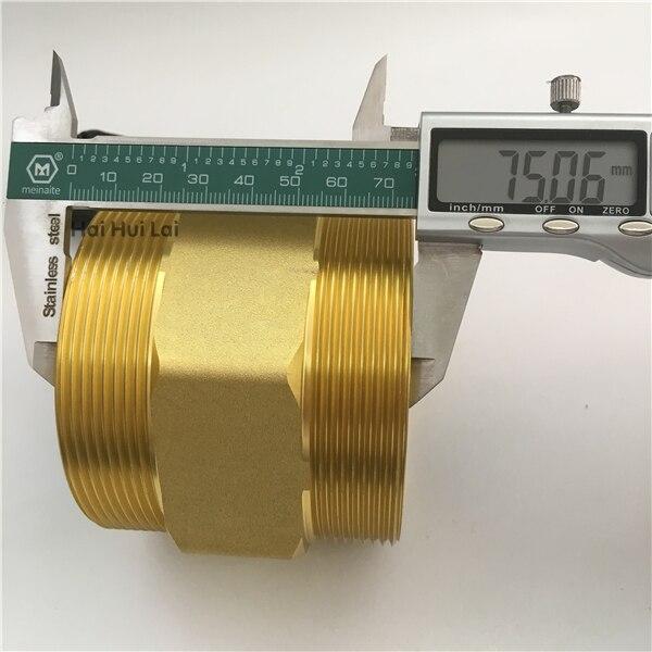 +DN80 Aluminum water Hall flow sensor meter (5)