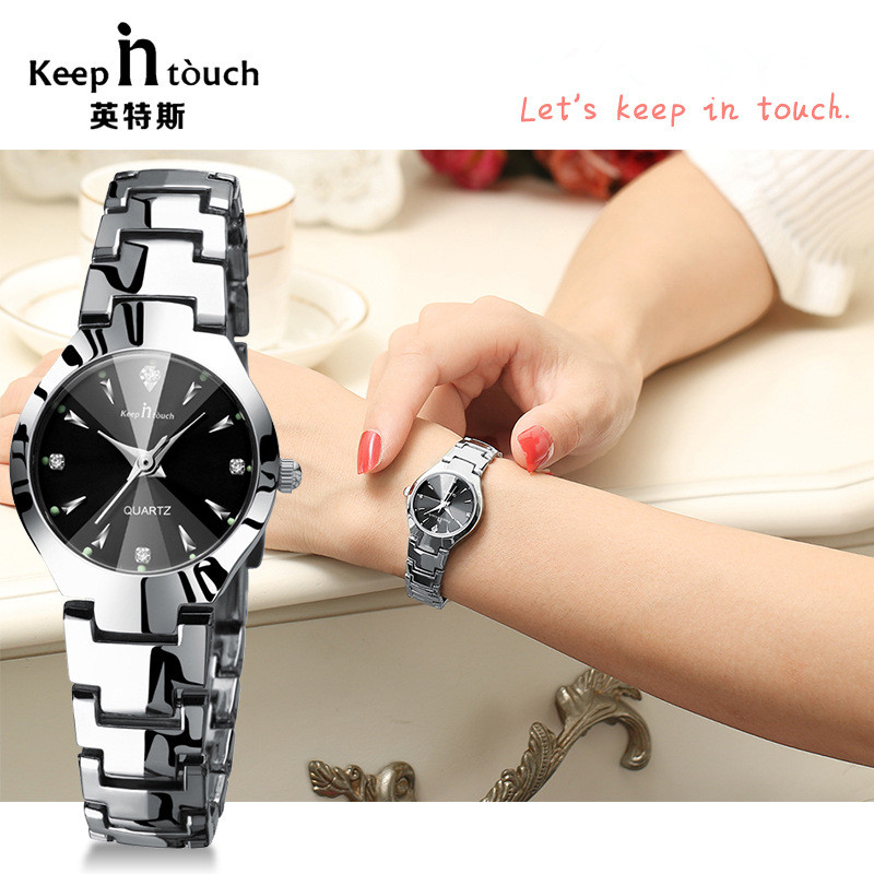 KEEP IN TOUCH New Luxury brand Alloy ladies quartz watches luminous watches women watches clock relogio masculino Dropshipping!KEEP IN TOUCH New Luxury brand Alloy ladies quartz watches luminous watches women watches clock relogio masculino Dropshipping!