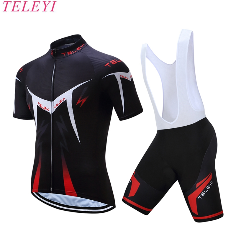 New Team Teleyi Cycling jerseys 2017 Short sleeves Summer Breathable Cycling Clothing Pro MTB bike jerseys Ropa Ciclismo 2017 new pro team cycling jerseys bike clothing ropa ciclismo breathable short sleeve 100