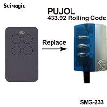 Frete grátis PUJOL 433.92 Substituir Rolling Code Controle Remoto Carros Lançador Da Corrente Chave