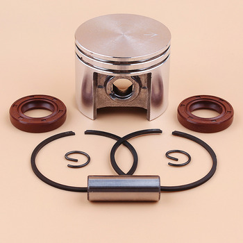 цена на 42.5mm Piston Ring Oil Seal Kit For STIHL 025 MS250 MS 250 Chainsaw Engine Motor Parts 11230302000 96380031581