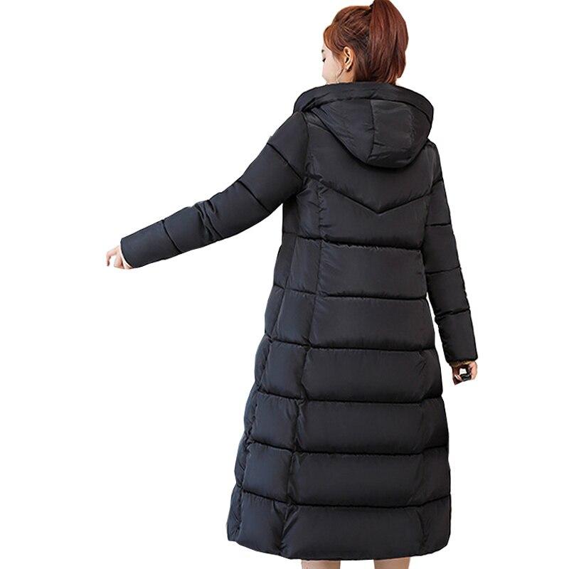 Mode Vrouwen 2018 Direct Selling Volledige Nieuwe Koreaanse Lange Dame Verdikte Gewatteerde Jas Winter Down Parka Vrouwen Jas 1513 Waterdicht, Schokbestendig En Antimagnetisch