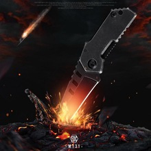 High hardness 3CR13 stainless steel EDC tool. Mini keychain knife multi-function pocket survival rope cutter outdoor pendant. стоимость
