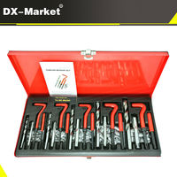 131pcs thread repair kit , m5 m6 m8 m10 m12 Metric thread insert repair tool with 1.5D coil , Tin suit H006 20