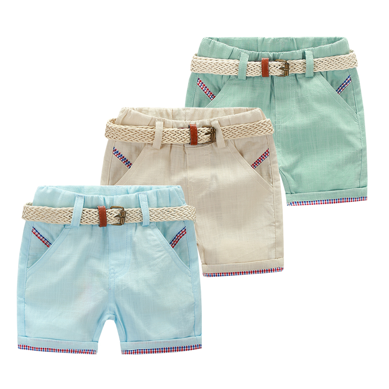 Mud Kingdom Boys Shorts Stripe Strap Elastic Waist