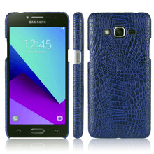 For Samsung J2 Prime G532 G532M Case Colored Crocodile Grain PU+PC Hard Cover Case for Samsung Galaxy J2 Prime G532F SM-G532 защитное стекло для samsung galaxy j2 prime sm g532f gecko на весь экран с белой рамкой