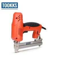 1800W Electric Nail Gun 30pcs/Min Stapler Straight Gun Kit Wood Staple Tacker For Wood Working