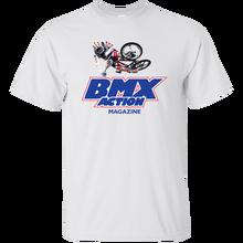 BMX Action, Magazine, Ramp, Jump, Freestyle, Racing, Bike, Haro, Hutch, Skyway, Harajuku Tops Fashion Classic Unique t-Shirt цена