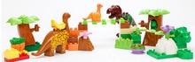 Large Particles Animal Dinosaur World Park 40pcslot Dino Education Compatible Legoingly Duplo