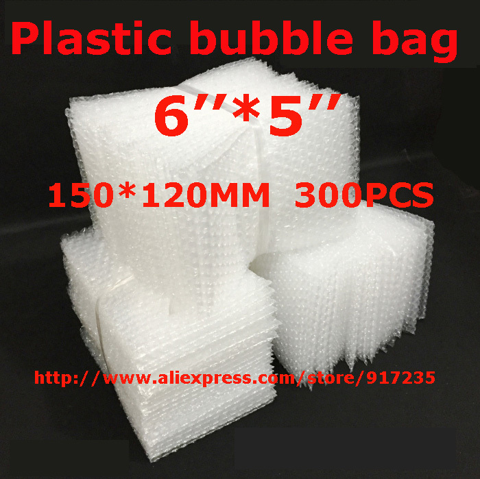 LOW BULK PRICE 300 pcs white Anti Static Bubble Envelopes Wrap Bags bubble bag 6 x 5_150 x 120mm FREE SHIPPING