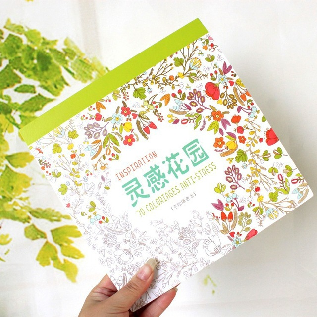 Inspiration Form Secret Garden Coloring Books For Adults Children Relieve Stress Painting Drawing Art Colouring