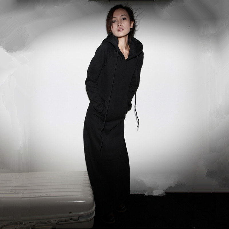 Nemokamas pristatymas 2019 m. Naujos mados suknelės ilgomis - Moteriški drabužiai - Nuotrauka 3