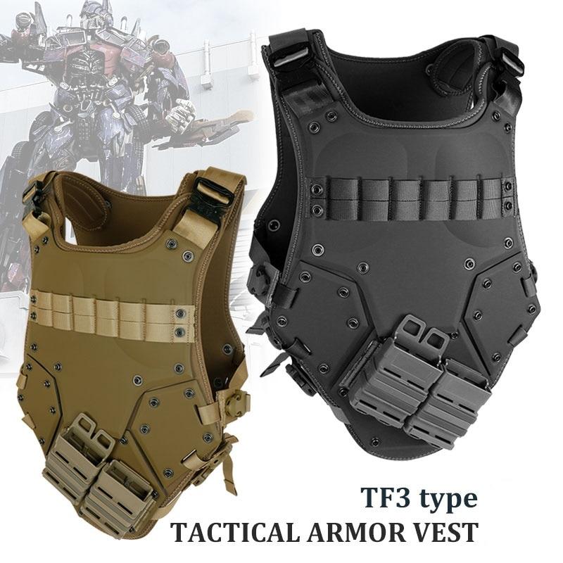 Abay Tf3 Chaleco Táctico Swat Airsoft Ejército Militar Cuerpo Armadura Transformador Paintball Wargame Caza Combate Chalecos
