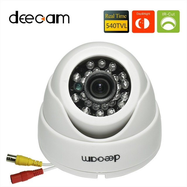 Deecam 1 3 Color SONY CCD 540TVL 36mm Lens Day Night Vision