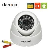 Deecam 1 3 Color SONY CCD 540TVL 3 6mm Lens Day Night Vision CCTV Dome Camera