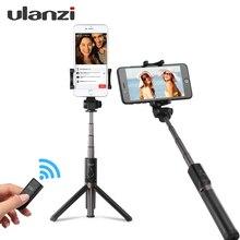 Ulanzi 3 в 1 палка для селфи штатив W 360 градусов вращения телефон клип крепление и Bluetooth пульт дистанционного управления для IPhone 8 meizu Xiaomi 6 Huawei