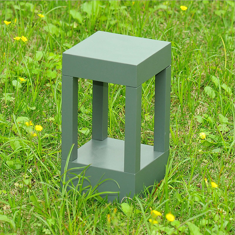 Outdooor have græsplæne armaturer park baggård coutyard kolonne lampe hoveddør søjle lampe WCS-OCL0037
